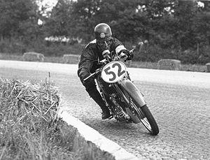 Dario Ambrosini - Dario Ambrosini at 1949 Nations motorcycle Grand Prix