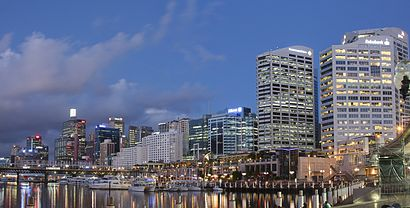 How to get to Darling Harbour with public transport- About the place