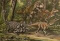 Daspletosaurus hunting.jpg
