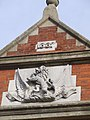 Date stamp on Building (Higham Green Hall) - geograph.org.uk - 337300.jpg