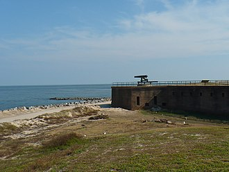 Charles DeWitt Anderson - Fort Gaines, Alabama, as it appeared in 2008