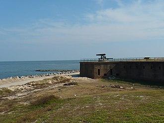 Fort Gaines (Alabama) - Image: Dauphin Island 09172008 005