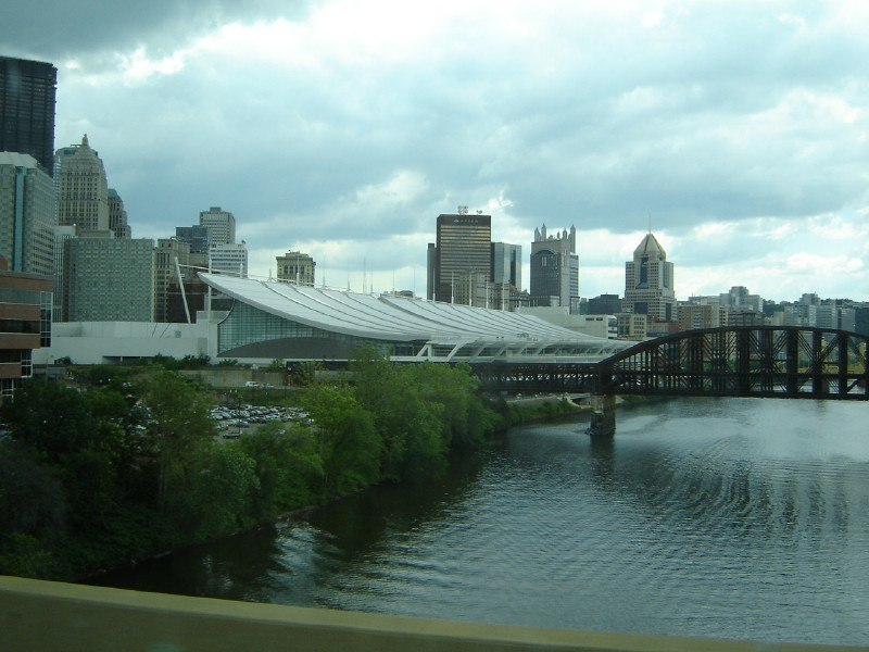 David L. Lawrence Convention Center, Pittsburgh, from a bridge 2006