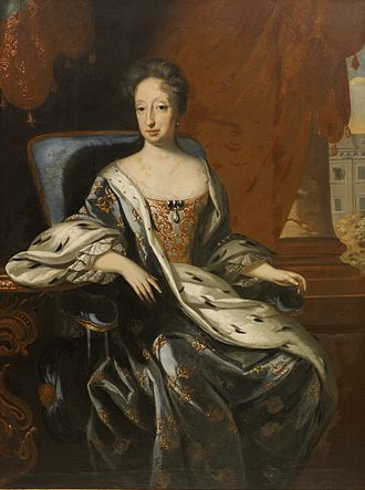 Queen mother - Queen Hedwig Eleanor or Sweden (née Princess of Holstein-Gottorp) was twice regent of that country, once for her only son, once for a grandson