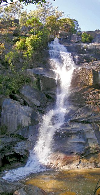 Davies Creek National Park - Waterfall in the national park, 2004