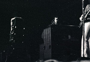 Jon Lord - Lord with Deep Purple on tour at the Niedersachsenhalle, Hanover, Germany, 1970