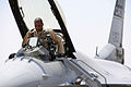 Defense.gov News Photo 100621-F-9119C-004 - U.S. Air Force Lt. Col. Terrence Hedley a fighter pilot with the 157th Fighter Squadron out of McEntire Joint National Guard Base S.C. prepares.jpg