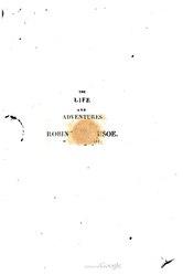 Daniel Defoe: Robinson Crusoé