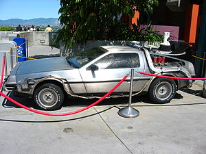 The DeLorean Time Machine in