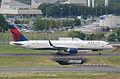 Delta Air Lines Boeing 757-2Q8; N704X@CDG;09.07.2011 605fx (5939833408).jpg