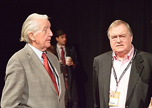 John Prescott - Dennis Skinner and Prescott at the 2016 Labour Party Conference