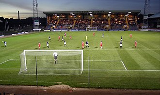 2007 Scottish Challenge Cup Final - Dens Park hosted the final.