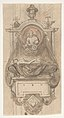 Design for a sepulchral monument with a portrait bust MET DP808658.jpg
