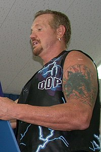 Diamond Dallas Page'nın resmi.