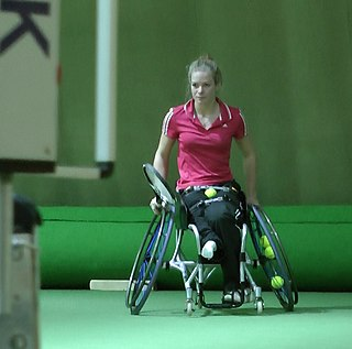 Diede de Groot Dutch wheelchair tennis player