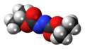 Diisopropyl azodicarboxylate 3D spacefill.png