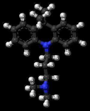 Dimetacrine - Image: Dimetacrine 3D balls
