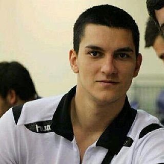 Darko Dimitrievski Macedonian handball player