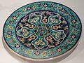Dish from Israel, Jerusalem, c. 1935, underglaze-painted earthenware.JPG