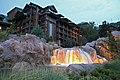 Disney's Wilderness Lodge at dusk.jpg