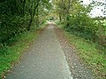 Disused railway track now a cycle path - geograph.org.uk - 1035793.jpg