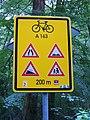 Divoká Šárka, tabule cyklotrasy (01).jpg