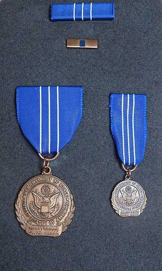 Meritorious Honor Award - Image: Do S Meritorious Honor Award Medal Set