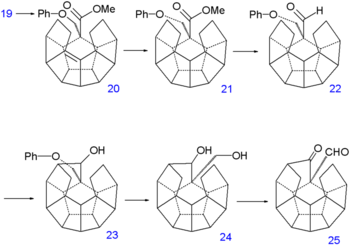 Dodecahedrane-sintezparto V