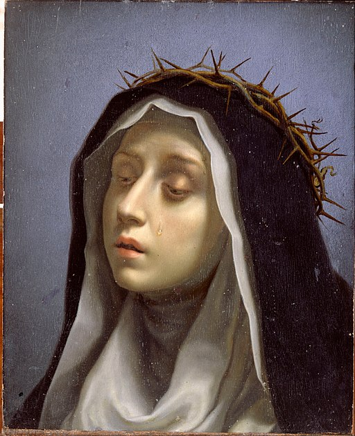 Dolci, Carlo - St. Catherine of Siena - Google Art Project