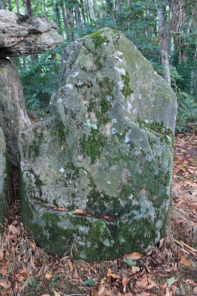 Dolmen de Tri-Men-de-Castello. Pierre 2, vue extérieure