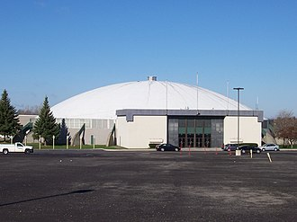 The Dome Center - Image: Dome Arena East View