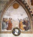 Domenico Ghirlandaio - Meeting of Augustus and the Sibyl - WGA08792.jpg
