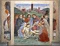 Domenico ghirlandaio, altare vespucci, 1471-72 ca., compianto.jpg