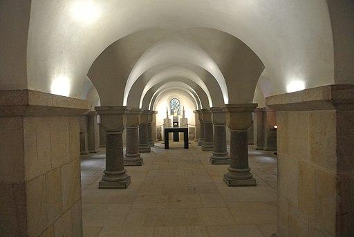 Domkrypta des Hildesheimer Doms