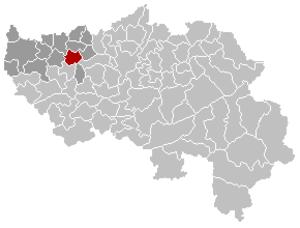 Donceel - Image: Donceel Liège Belgium Map