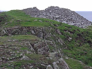 Doon Castle Broch - Image: Doon Castle Broch at Ardwell Bay. geograph.org.uk 1023487