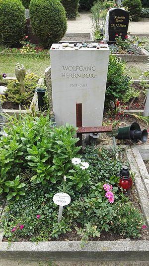 Wolfgang Herrndorf - Herrndorf's grave in Dorotheenstadt