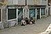 Dorsoduro three girls from Brasil Fondamenta della Pescaria in Venice.jpg