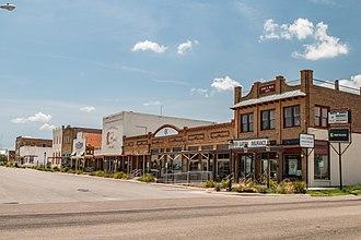 Cotulla, Texas - Downtown Cotulla