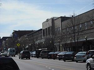 Massachusetts Street - The 900 block of Massachusetts Street, 2009