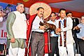 "Dr. Jitendra Singh being felicitated in an interactive programme called ""Meet the DoNER Minister"".jpg"