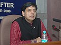 "Dr. Shashi Tharoor delivering a Talk on ""Terrorism Mumbai and After"", as part of the Lecture Series for Members of Parliament, organised by the Bureau of Parliamentary Studies and Training (BPST), in New Delhi.jpg"