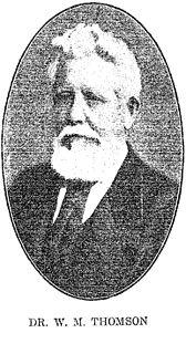 William McClure Thomson American missionary