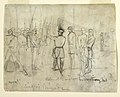 Drawing Drawing, Colonel William Dwight, Jr. Inspecting His Regiment, 1862 (CH 18173893).jpg