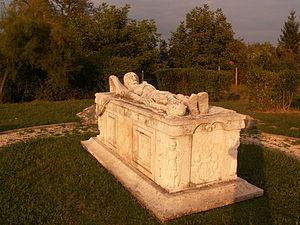 György Szondy - Szondy's sarcophagus in Drégelypalánk