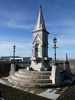 Drinking Fountain at the New Western International Market - geograph.org.uk - 1178140