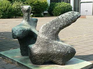 Two Piece Reclining Figure No. 1