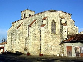Durance, Lot-et-Garonne - The church in Durance
