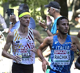 Yassine Rachik Italian long-distance runner