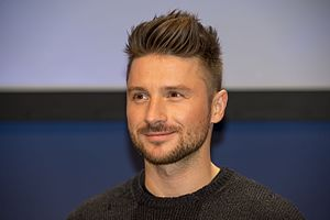 Russia in the Eurovision Song Contest 2016 - Sergey Lazarev during a press meet and greet